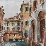 Piero Giovecchi 35×50 Acquerello