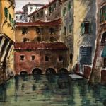 Piero Giovecchi 49×40 Acquerello
