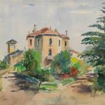 Piero Giovecchi 50×40 Acquerello