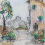 Piero Giovecchi 10×14 Acquerello