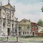 Piero Giovecchi 50×70 Acquerello