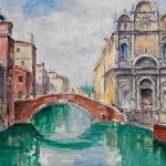 Piero Giovecchi 65×49 Olio