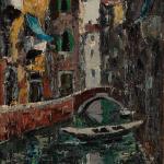 Piero Giovecchi 40×80 Olio