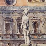 Piero Giovecchi 39×59 Acquerello