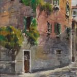 Piero Giovecchi 40×50 Acquerello