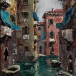 Piero Giovecchi 31×50 Olio
