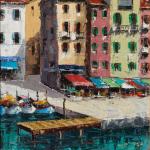 Piero Giovecchi 30×59 Olio