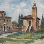 Piero Giovecchi 60×43 Acquerello