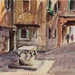 Piero Giovecchi 60×40 Acquerello