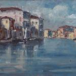 Piero Giovecchi 38×15 Olio