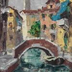 Piero Giovecchi 18×28 Olio