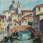 Piero Giovecchi 30×39 Olio