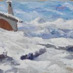 Piero Giovecchi 59×39 Olio