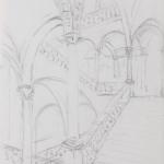 Piero Giovecchi 50×36 Appunti di viaggio a matita